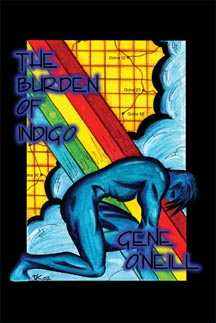 cover of the hardback of The Burden Of Indigo