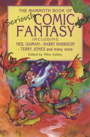 The Mammoth Book of Seriously Comic Fantasy cover
