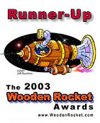 Wooden Rocket Awards: best online magazine runner-up